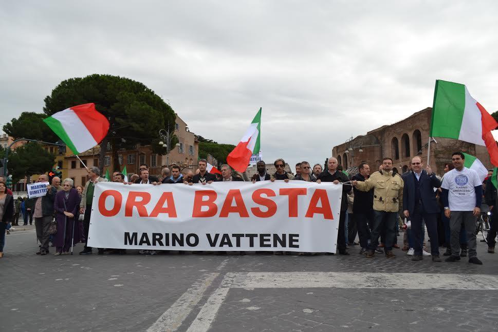 L'Infernetto pronto alle barricate contro gli immigrati di Tor Sapienza. Martedì corteo per le dimis...