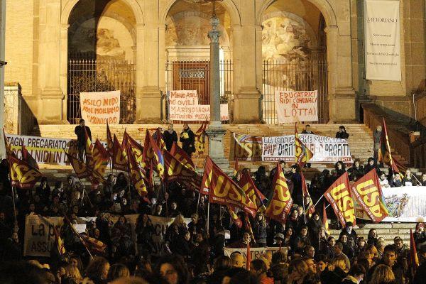Marino svegliati: Cgil, Cisl, Uil in piazza il 23 maggio contro il sindaco