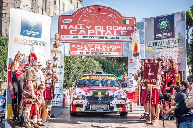 Dall'Eur al Gianicolo, ecco il secondo Rally di Roma