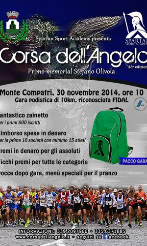 La Corsa dell'Angelo torna a Monte Compatri: domenica l'appuntamento con la 33esima edizione