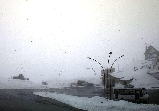 Maltempo in Ciociaria: termometro in picchiata e torna la neve