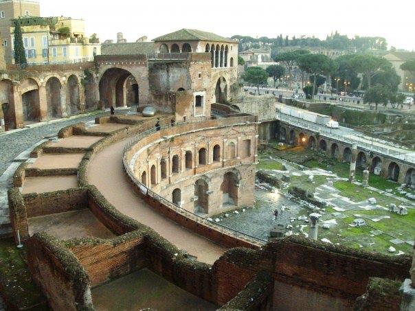Il presente antico di Passeretti ai Mercati Traianei