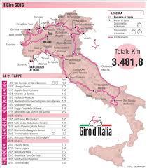 Ciclismo, il Giro d'Italia ritorna a Fiuggi: arrivo e partenza di tappa