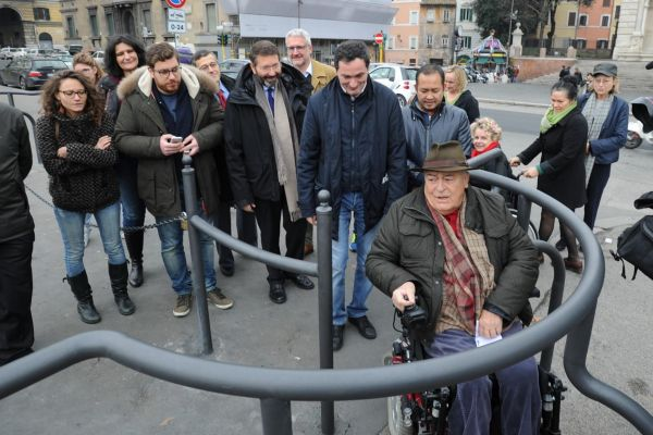 Ponte Sisto, Bertolucci vince la battaglia contro le barriere