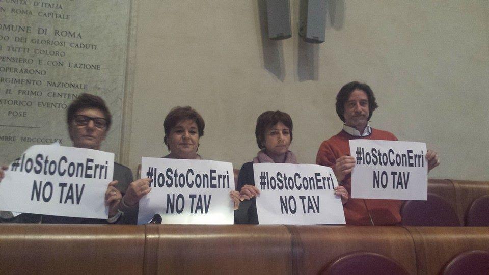 No Tav, dai consiglieri di Sel solidarietà a Erri De Luca
