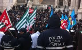 Vigili, sciopero nazionale il 12 febbraio: