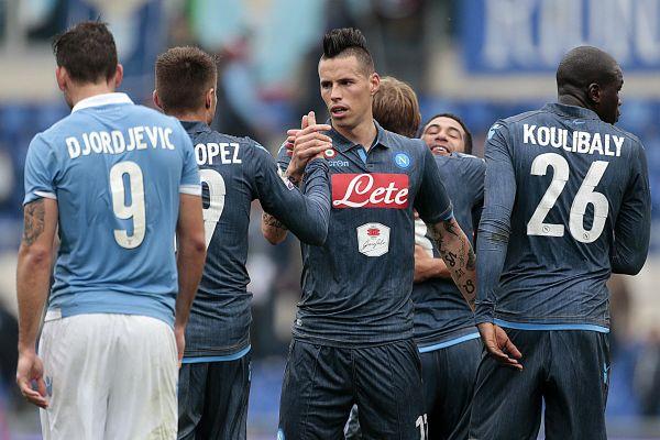 La Lazio si arrende a Higuain: biancocelesti sconfitti 1-0 e Napoli terzo in classifica