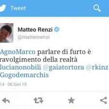 Udinese-Roma, giallo sul tweet di Renzi: