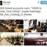 L'Isis minaccia Roma: gli sfottò degli italiani sul Washington Post