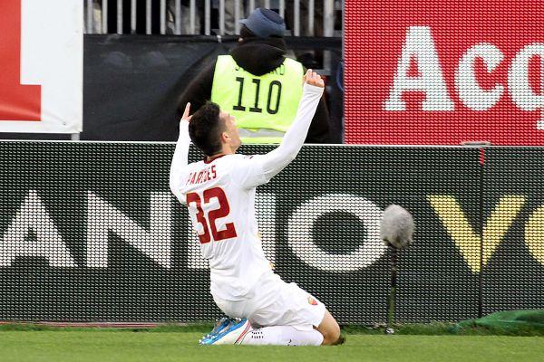 Roma, linea 'Verde' e vittoria 2-1 contro il Cagliari: due assist per il nuovo talento 18enne