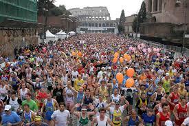 Maratona di Roma: boom di iscritti, molti da Francia e Inghileterra