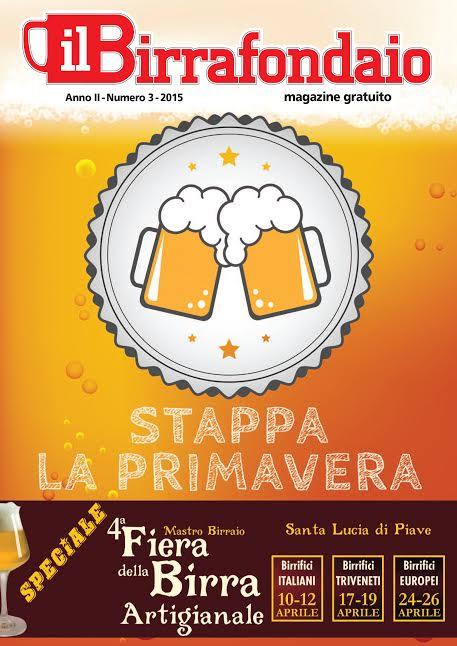 Il Birrafondaio, in distribuzione il nuovo numero della rivista dedicata al mondo della birra