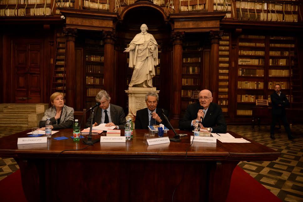 """Alla Biblioteca Casanatense presentato il libro di Raffaele Tamiozzo,  """"La legislazione dei beni cul..."""