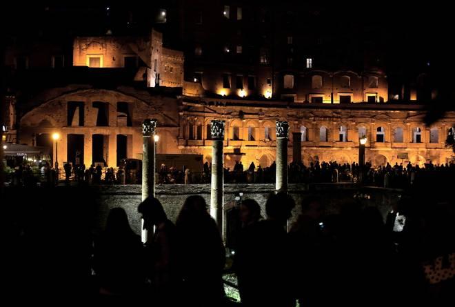 Il modello Storaro anche al Foro romano: luci notturne per illuminare l'area. Il sovrintendente Pres...