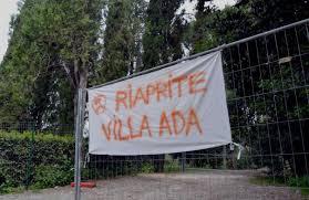 Villa Ada, mille romani firmano per la riapertura