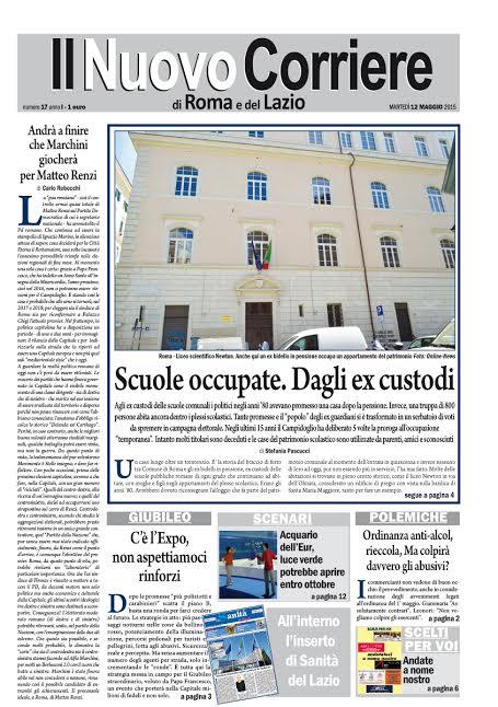 IL NUOVO CORRIERE DI ROMA E DEL LAZIO - MARTEDI' 12 MAGGIO 2015