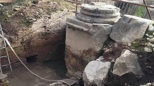 Circo Massimo, ritrovati resti dell'Arco di Tito
