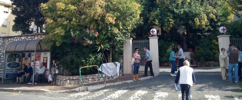 Colleferro, Zingaretti visita l'ospedale: