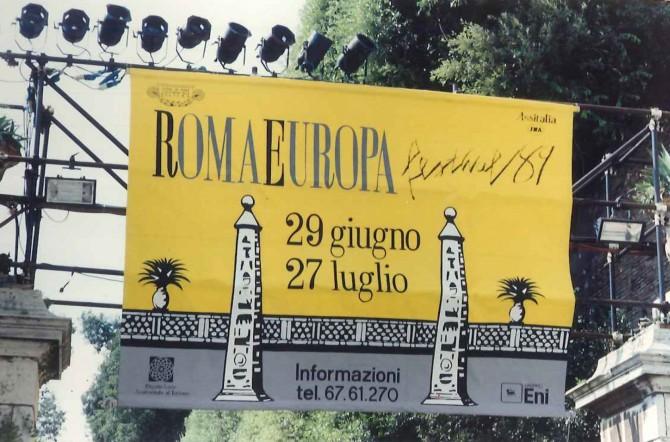 RomaEuropa, festival dei 30 anni con grandi nomi