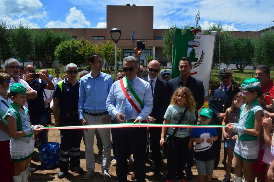 """Monte Compatri, open day per la palestra di Laghetto. Il sindaco De Carolis: """"Un'altra promessa..."""