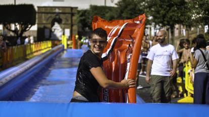Monte Compatri, torna l'Acquaspeed: lo scivolo urbano in piazza dal 24 al 26 luglio