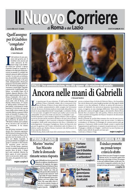 IL NUOVO CORRIERE DI ROMA E DEL LAZIO - SABATO 4 LUGLIO 2015
