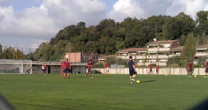 CALCIO - La Roma in viaggio per Pinzolo, scatta il ritiro