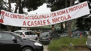 Casale San Nicola, la denuncia di Santori: