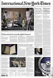 Il degrado di Roma sul New York times: