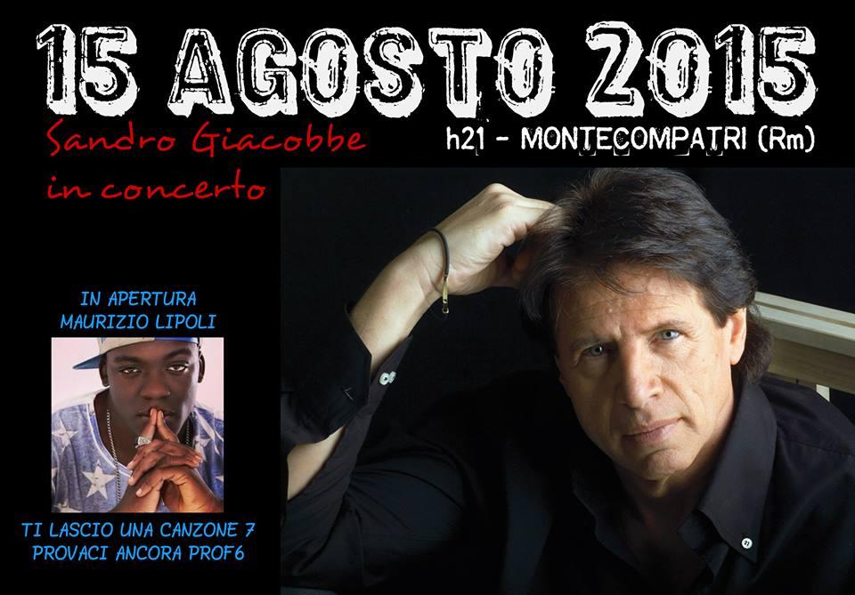 Ferragosto, a Monte Compatri arriva il cantautore Sandro Giacobbe