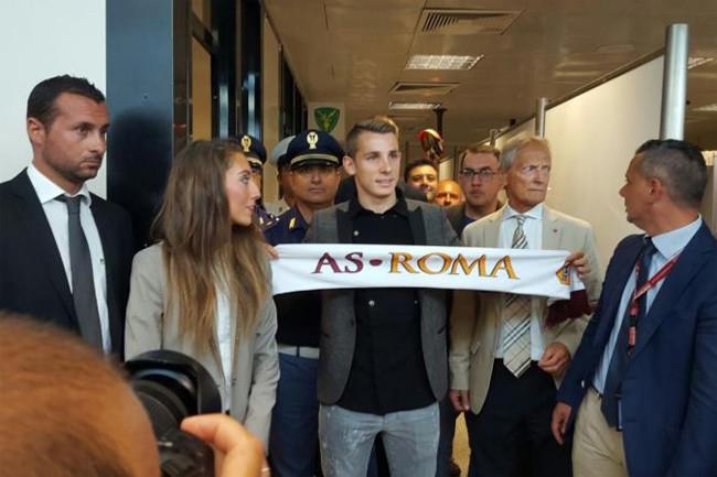 Roma, Garcia abbraccia Digne e rivede Maicon