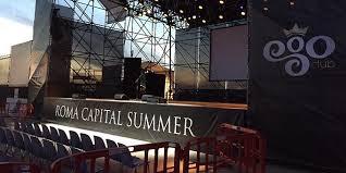 Roma Capitale Summer, inizia la smobilitazione dei tendoni dell'estate di Tor Vergata