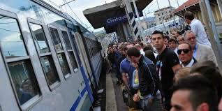 Roma-Civitavecchia, pioggia e scariche elettriche: linea rallentata