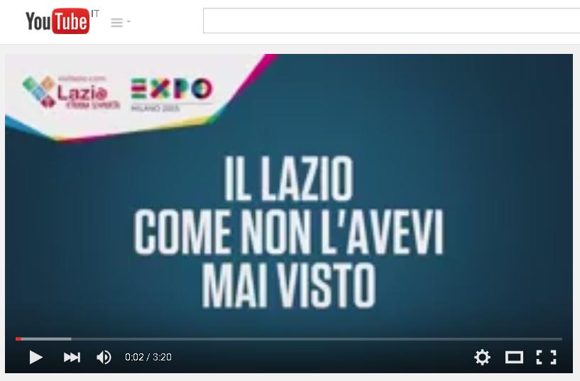 Expo, la Regione Lazio racconta i Castelli.