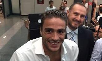 Lazio, Matri arriva a Roma: