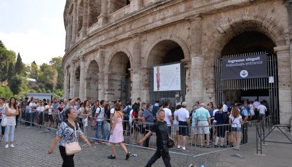 Colosseo, Cgil: