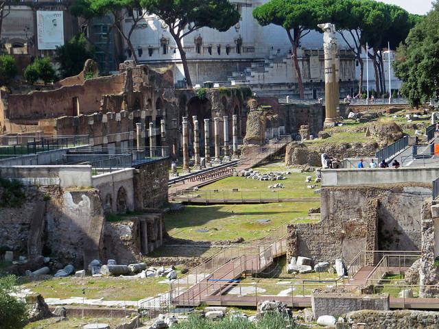 I Fori romani sul tablet, 1700 anni di storia tutti in una app