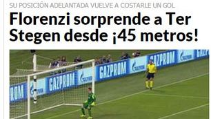 Champions, Roma-Barcellona: Florenzi celebrato dalla stampa spagnola