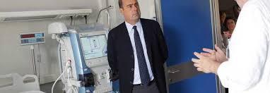 Centocelle, Zingaretti visita il nuovo poliambulatorio