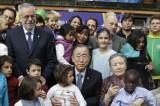 """Sant'Egidio, Ban kii Moon dai profughi: """"Non perdete la speranza"""". E Riccardi si sfila dalla corsa a sindaco"""