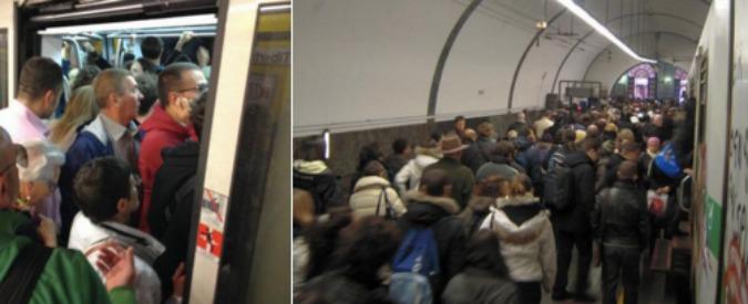 Metro A, treno esce dai binari e urta muretto: evacuati i passeggeri. Riaperta la linea, attivate 2 ...