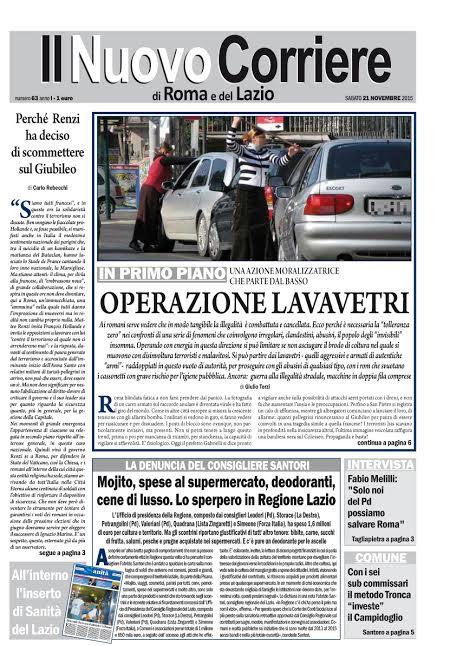 IL NUOVO CORRIERE DI ROMA E DEL LAZIO - SABATO 21 NOVEMBRE 2015