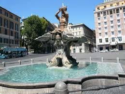 Piazza Barberini, da martedì lavori sulla fontana del Tritone