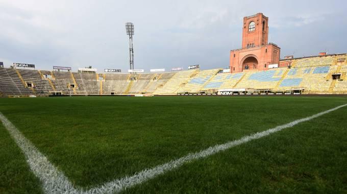 Bologna-Roma: al Dall'Ara match sotto l'acquazzone, campo pesante