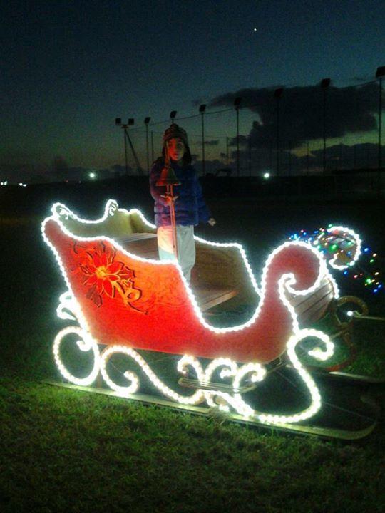 Fiumicino, apre la maxi casa di Babbo Natale