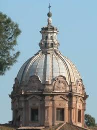 Torna il colore travertino sulla cupola di San Luca