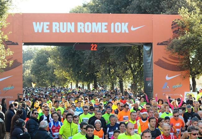 Atletica, We Run Rome: in pista anche gli arbitri di calcio
