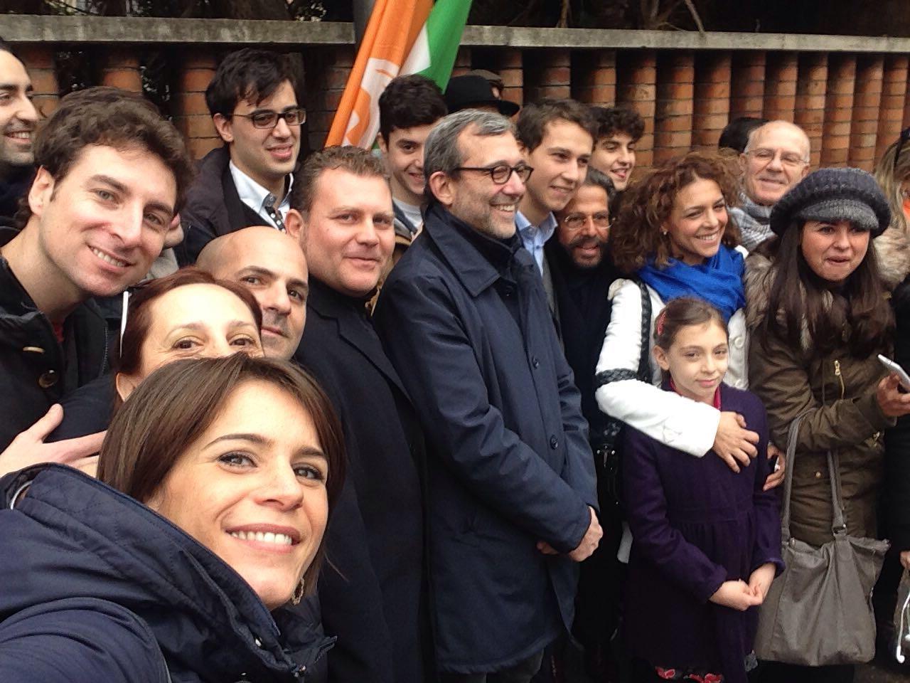 Primarie, Giachetti in #TuttaRoma per raccogliere le firme: