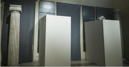 Rohani, coperte alcune statue di nudi dei musei capitolini