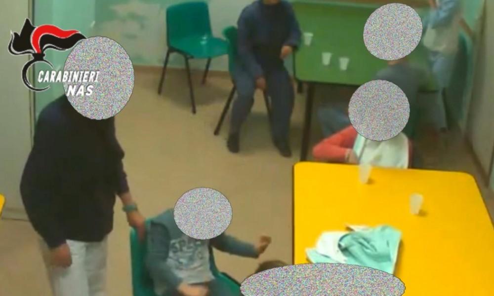 Calci e pugni a disabili segregati in una casa di cura: 10 arresti